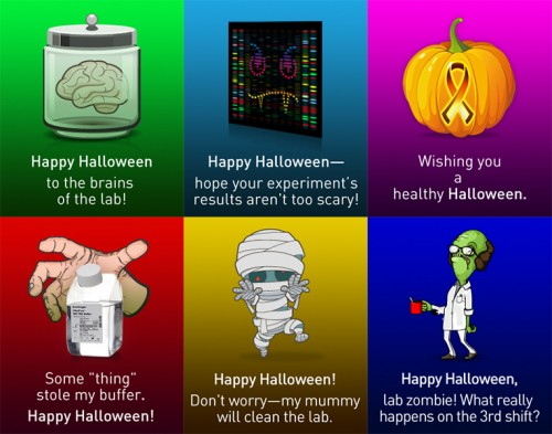 Halloween Cards for Signals