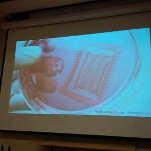 Andrew Pelling lab biotextile