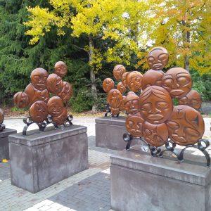 Whistler sculpture